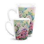 Watercolor Floral Latte Mug