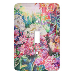 Watercolor Floral Light Switch Covers - Multiple Toggle Options Available