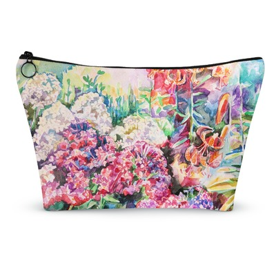 Watercolor Floral Makeup Bags