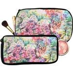 Watercolor Floral Makeup / Cosmetic Bag