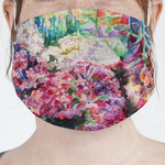 Watercolor Floral Face Mask Cover