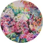 Watercolor Floral Melamine Plate