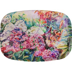 Watercolor Floral Melamine Platter