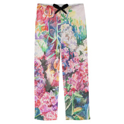 Watercolor Floral Mens Pajama Pants