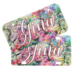 Watercolor Floral Mini/Bicycle License Plates