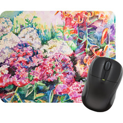 Watercolor Floral Mouse Pad