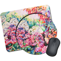Watercolor Floral Mouse Pads