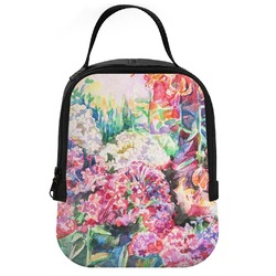 Watercolor Floral Neoprene Lunch Tote