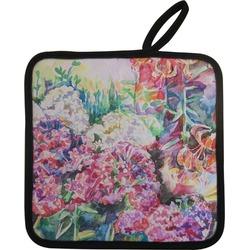 Watercolor Floral Pot Holder