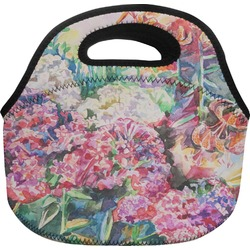 Watercolor Floral Lunch Bag