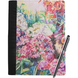 Watercolor Floral Notebook Padfolio (Personalized)