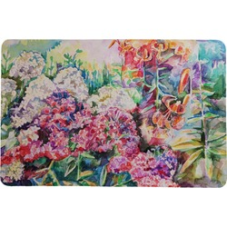 "Watercolor Floral Comfort Mat - 24""x36"""