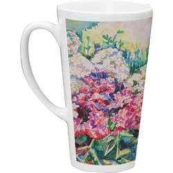 Watercolor Floral Latte Mug