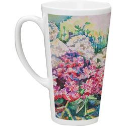 Watercolor Floral 16 Oz Latte Mug