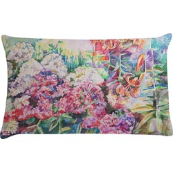 Watercolor Floral Pillow Case