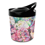 Watercolor Floral Plastic Ice Bucket
