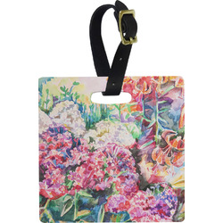 Watercolor Floral Luggage Tags