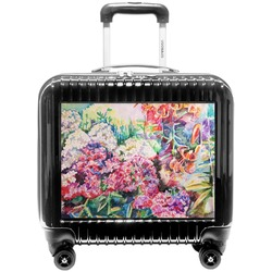 Watercolor Floral Pilot / Flight Suitcase