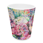 Watercolor Floral Plastic Tumbler 6oz