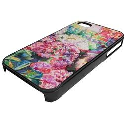 Watercolor Floral Plastic 4/4S iPhone Case