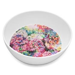 Watercolor Floral Melamine Bowl 8oz