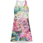 Watercolor Floral Racerback Dress