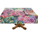 Watercolor Floral Tablecloth