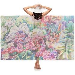 Watercolor Floral Sheer Sarong