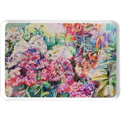 Watercolor Floral Serving Tray