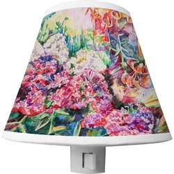 Watercolor Floral Shade Night Light