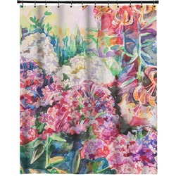 """Watercolor Floral Extra Long Shower Curtain - 70""""x84"""""""