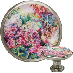 Watercolor Floral Cabinet Knobs