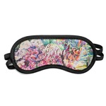 Watercolor Floral Sleeping Eye Mask