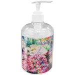 Watercolor Floral Soap / Lotion Dispenser