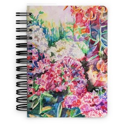 Watercolor Floral Spiral Bound Notebook - 5x7