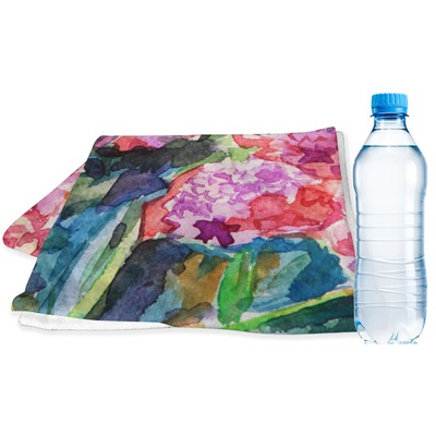 Watercolor Floral Sports & Fitness Towel