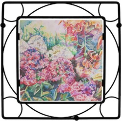 Watercolor Floral Trivet