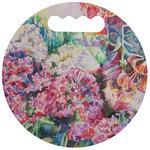 Watercolor Floral Stadium Cushion (Round)