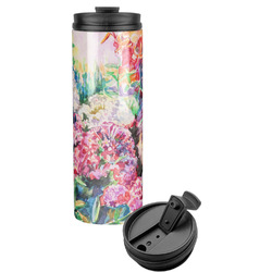 Watercolor Floral Stainless Steel Travel Tumbler