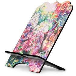 Watercolor Floral Stylized Tablet Stand