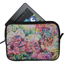 Watercolor Floral Tablet Case / Sleeve