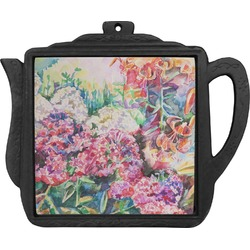 Watercolor Floral Teapot Trivet