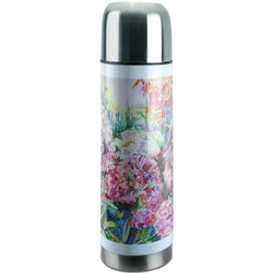 Watercolor Floral Stainless Steel Thermos