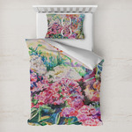 Watercolor Floral Toddler Bedding
