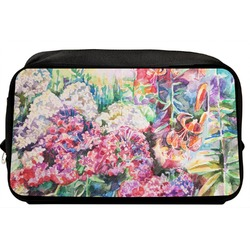 Watercolor Floral Toiletry Bag / Dopp Kit