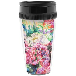 Watercolor Floral Travel Mug
