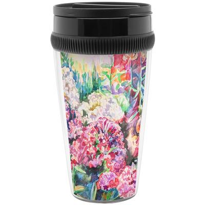 Watercolor Floral Travel Mugs