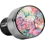 Watercolor Floral USB Car Charger