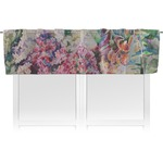 Watercolor Floral Valance