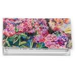 Watercolor Floral Vinyl Checkbook Cover